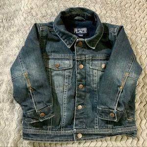 The Children's Place Fleece Lined Denim Jacket